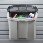 garage trash can