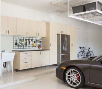 custom garage floors