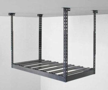 garage overhead storage shelves