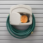 garden hose holder garage
