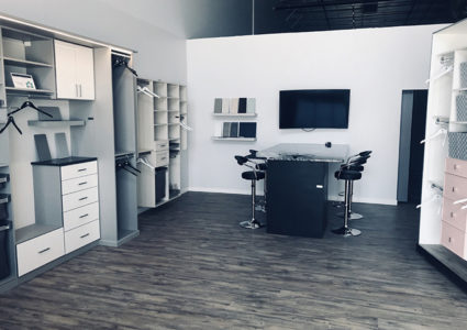 closet organization saskatoon showroom