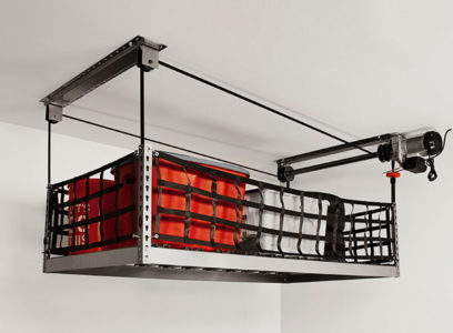 motorized overhead storage onrax