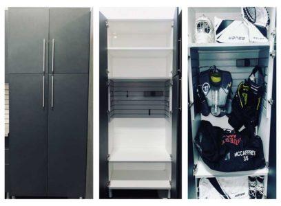 hockey locker cabinet